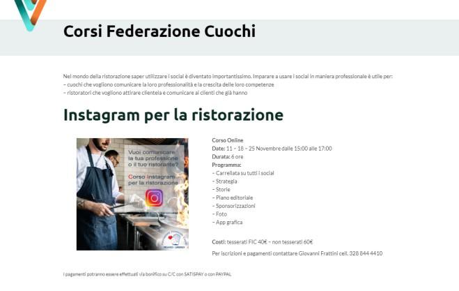 Corsi Online Federazione 2020