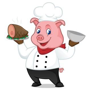 Pig in divisa